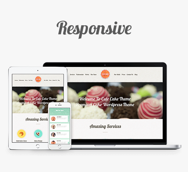 Cute Cake - Responsive One Page WordPress Theme - 3  Download Cute Cake – Responsive One Page Wordpress Theme nulled responsive